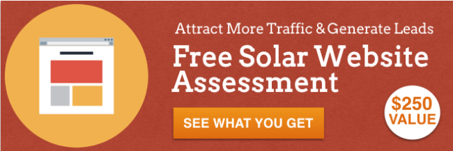 Free Solar Website Assessment
