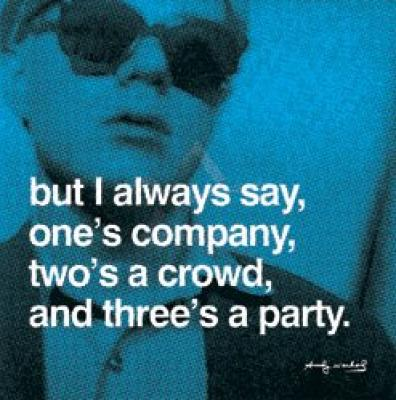 Andy Warhol print by World Gallery.