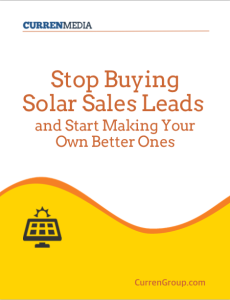 Download free e-book on solar lead generation