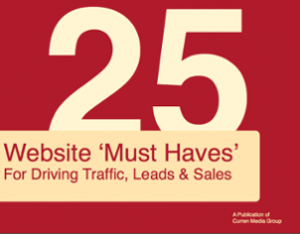 25 Website Must Haves