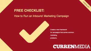 Inbound Marketing Checklist Cover