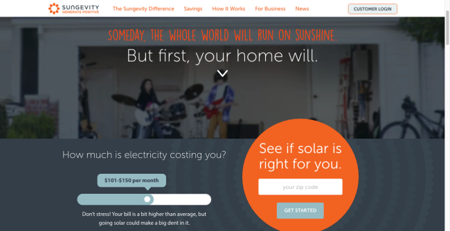 Sungevity quote request form