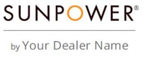 SunPower Master Dealer logo