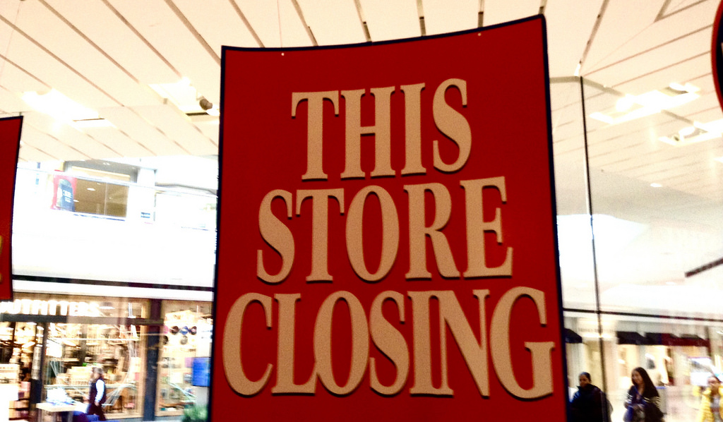 out of business photo